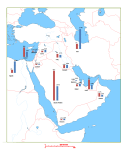 middle east graph map