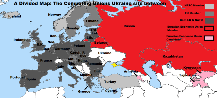 new geopolitical map